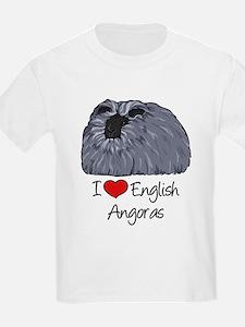 I Heart English Angoras T-Shirt