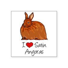 I Heart Satin Angoras Sticker