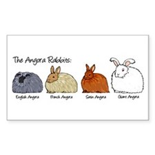 The Angora Rabbits Decal
