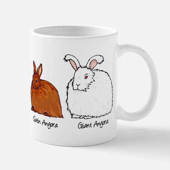 The Angora Rabbits Mugs