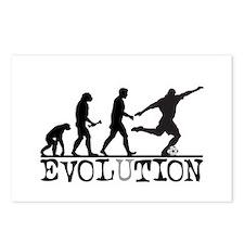 EVOLUTION Soccer Postcards (Package of 8)
