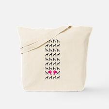 Funny Hund Tote Bag