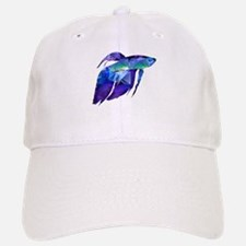 Beta Fish for Polygon Mosaic Blue Purple Baseball
