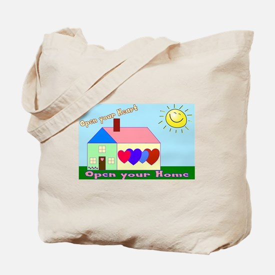 Funny Foster parents Tote Bag