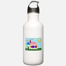 Cool Foster parents Water Bottle