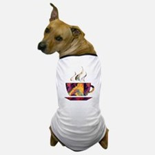 Colorful Cup of Coffee copy Dog T-Shirt