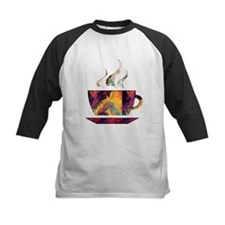 Colorful Cup of Coffee copy Baseball Jersey