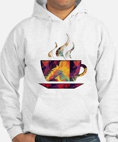 Colorful Cup of Coffee copy Hoodie