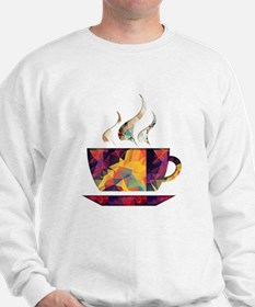 Colorful Cup of Coffee copy Jumper