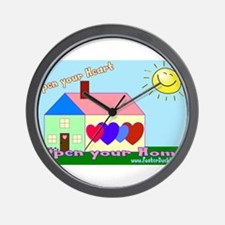 Foster care Wall Clock