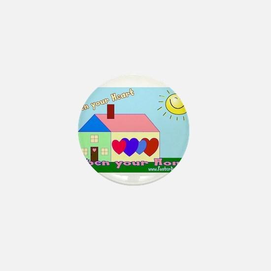 Foster children Mini Button