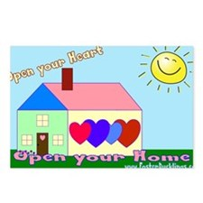 Foster parent Postcards (Package of 8)