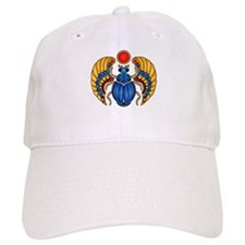 Blue Scarab Baseball Cap