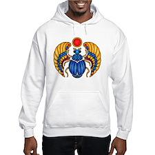 Blue Scarab Hoodie Sweatshirt
