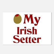Olive(I Love) My Irish Setter Postcards (Package o