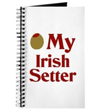 Olive(I Love) My Irish Setter Journal