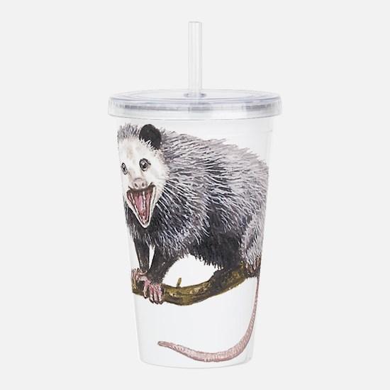 Opossum Acrylic Double-wall Tumbler