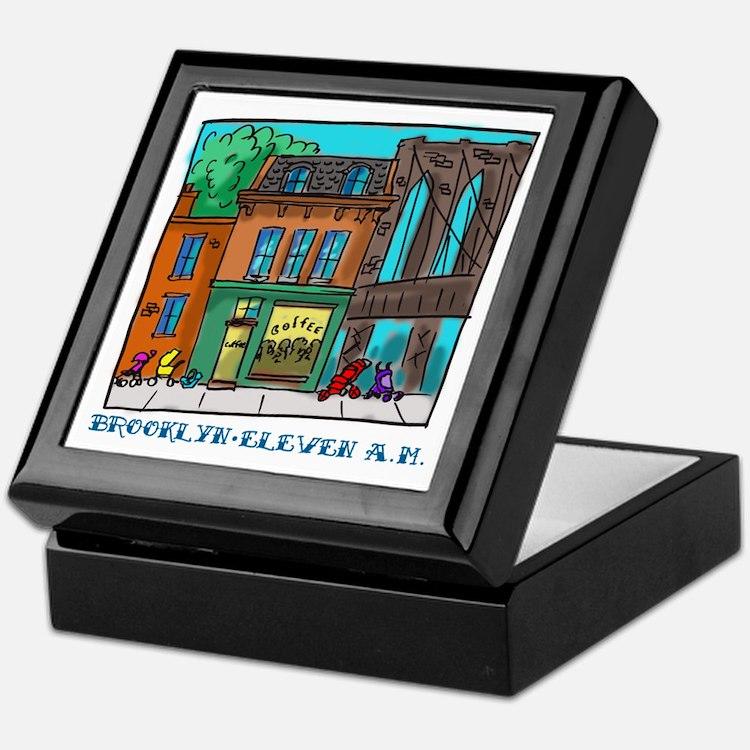 Brooklyn Eleven A.M. Keepsake Box