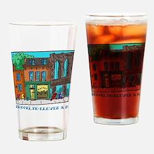 Brooklyn Eleven A.M. Drinking Glass