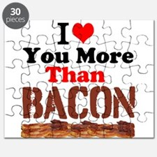 I Love You More Than Bacon Puzzle