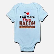 I Love You More Than Bacon Body Suit