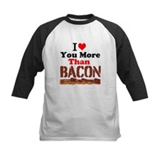 I Love You More Than Bacon Baseball Jersey