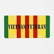 Vietnam Service Ribbon Aluminum License Plate