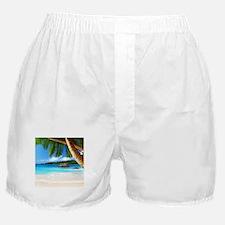 Tropical Island Boxer Shorts