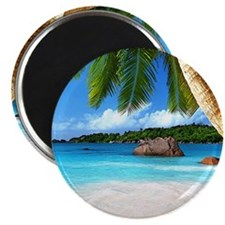 Tropical Island Magnets