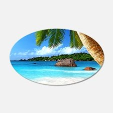 Tropical Island Wall Decal