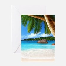 Tropical Island Greeting Cards