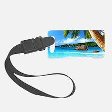 Tropical Island Luggage Tag
