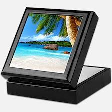 Tropical Island Keepsake Box