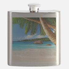 Tropical Island Flask