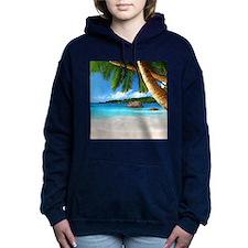 Tropical Island Women's Hooded Sweatshirt