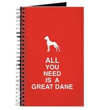 Cute Great danes Journal