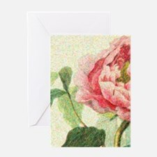 Peony Vintage Pop Greeting Cards