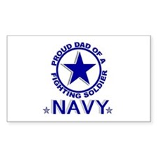 """Proud Dad of a Fighting Soldier"" Decal"