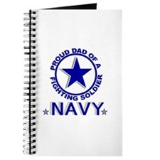 """Proud Dad of a Fighting Soldier"" Journal"