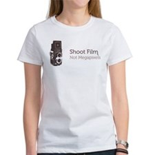 Shoot Film Not Megapixels T-Shirt