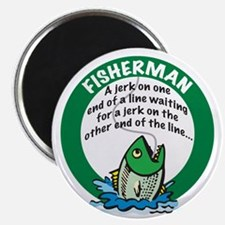 Jerk Fisherman Magnet