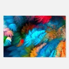 Abstract Clouds Postcards (Package of 8)