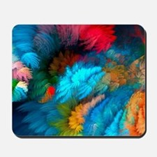 Abstract Clouds Mousepad