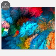 Abstract Clouds Puzzle