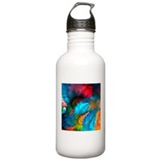 Abstract Clouds Water Bottle