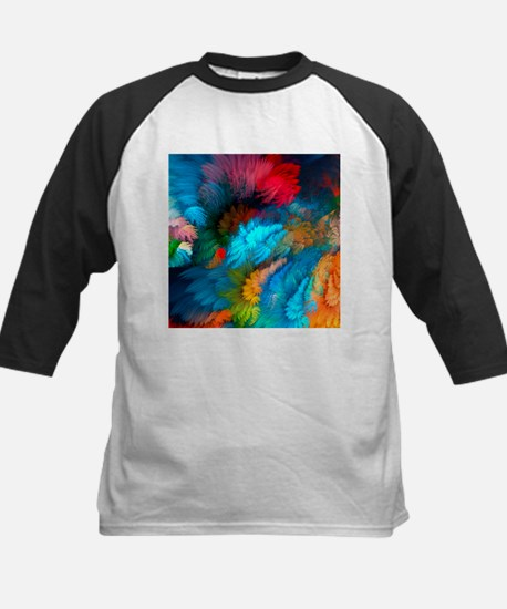 Abstract Clouds Baseball Jersey