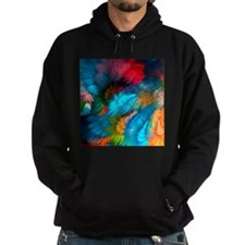 Abstract Clouds Hoody