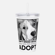 Adopt Puppy Acrylic Double-wall Tumbler