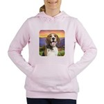 Beagle Meadow Women's Hooded Sweatshirt