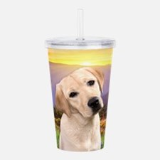 Labrador Meadow Acrylic Double-wall Tumbler